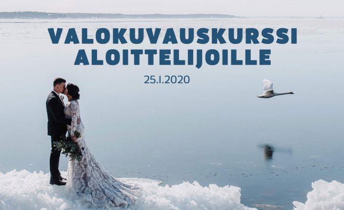 Valokuvauskurssi aloittelijoille Turussa 25.1.2020
